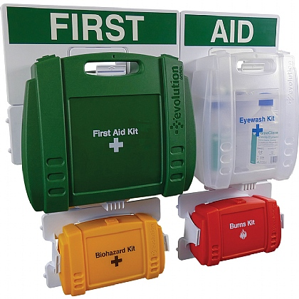 Evolution BS 8599 Compliant Complete First Aid Point, Large
