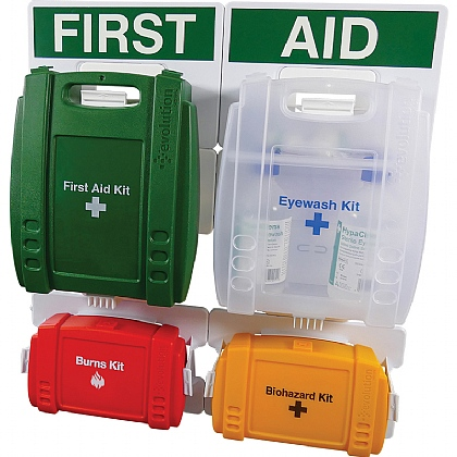 Evolution BS 8599 Compliant Complete First Aid Point, Small