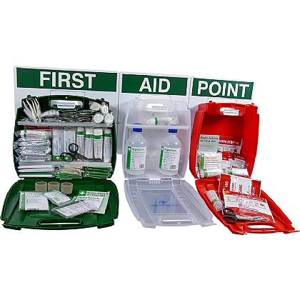 Evolution BS 8599 Comprehensive Catering First Aid Point, Large
