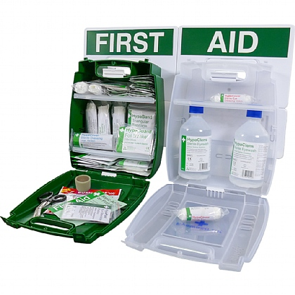 Evolution Eyewash & Catering First Aid Point, Small