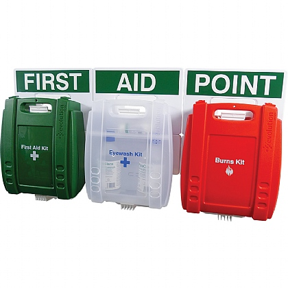 Evolution First Aid, Eye Wash & Burns Point Medium