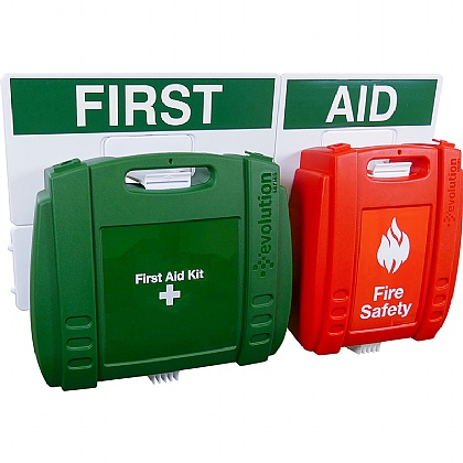 First Aid and Fire Safety Point, Large