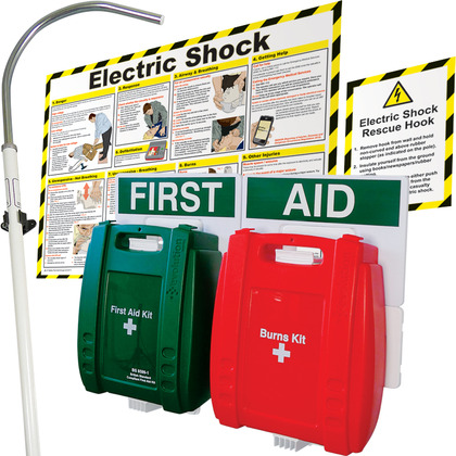Electric Shock Rescue Point