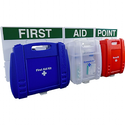 Evolution Comprehensive Catering First Aid Point (Blue Case, Large)
