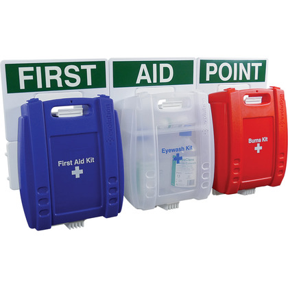 Evolution Comprehensive Catering First Aid Point (Blue Case, Small)