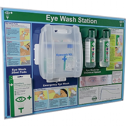 HypaClens 3-in-1 Eye Wash Station