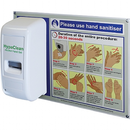 HypaClean Alcohol Hand Gel Dispenser