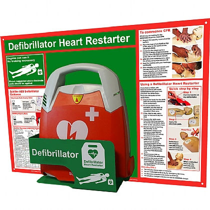 HypaGuard Defibrillator Station FRED PA-1