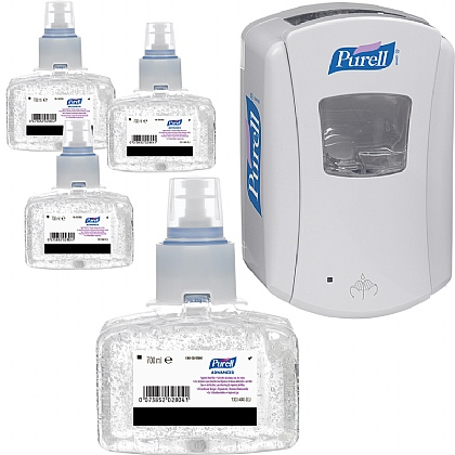 Purell LTX Advanced Hygienic Hand Rub Starter Pack