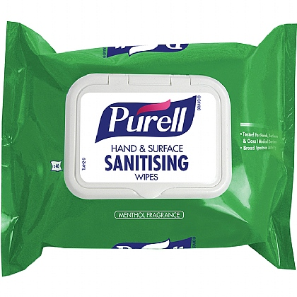 Purell Hand & Surface Sanitising Wipes