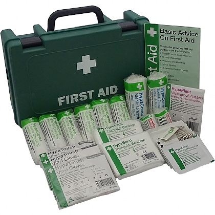 HSE 1-10 Person Workplace First Aid Kit, Small