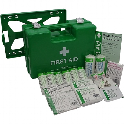 HSE 1-10 Person First Aid Kit in Deluxe ABS Case