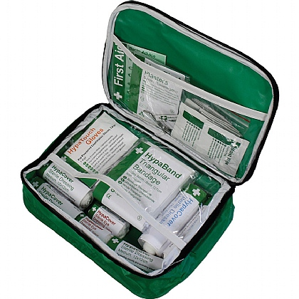 1-10 Person First Aid Kit in Nylon Case