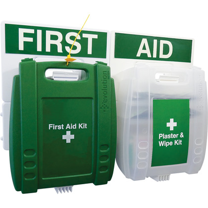 Evolution First Aid and Plaster & Wipe Point, Small