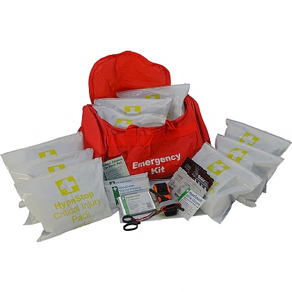 Mass Casualty Kit – 10 x Critical Injury Packs