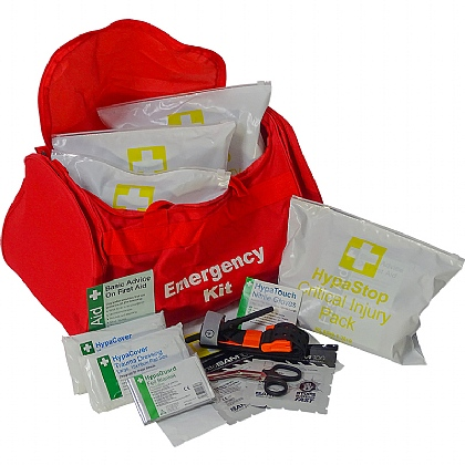 Mass Casualty Kit – 5 x Critical Injury Packs