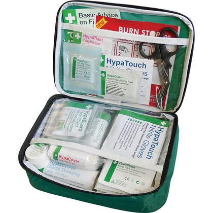 BS 8599 Compliant First Aid Kit in Nylon Case