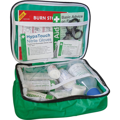 Travel First Aid Kit in Case BS8599 Compliant