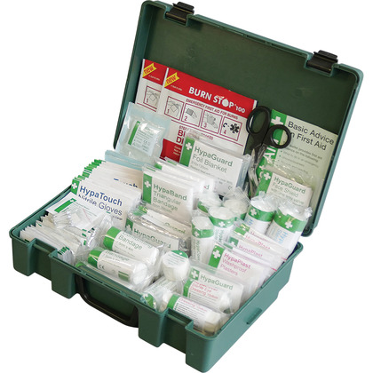 Workplace First Aid Kit BS8599 Compliant, Large
