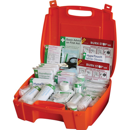 Evolution BS 8599 Complaint First Aid Kit - Orange Case, Large