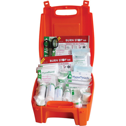 Evolution BS 8599 Complaint First Aid Kit - Orange Case, Medium