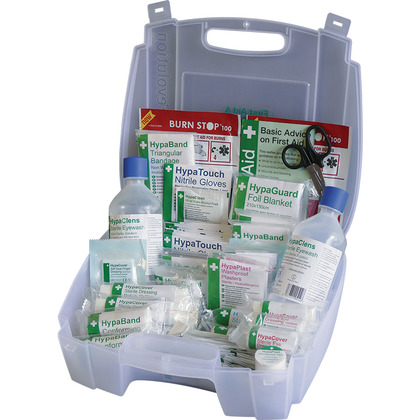 Evolution BS 8599 Compliant First Aid & Eyewash Kit Medium