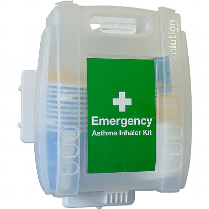 Emergency Asthma Kit with 5 Re-usable Spacers