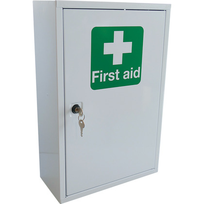 First Aid Cabinet BS 8599 Compliant, Small