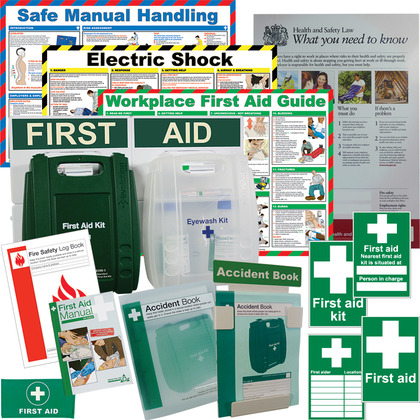 BS Compliant Comprehensive First Aid Compliance Pack