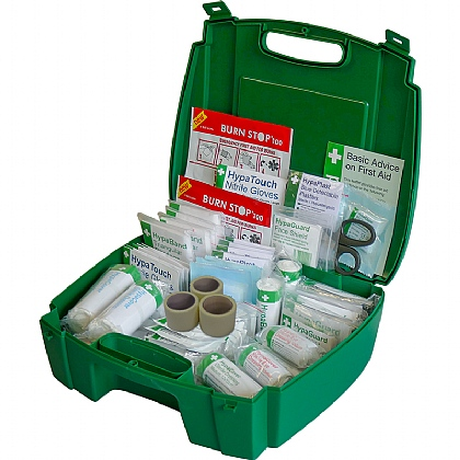 BS 8599 Compliant Green Catering First Aid Kit, Large