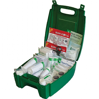 BS 8599 Compliant Green Catering First Aid Kit, Medium