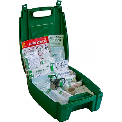 BS 8599 Compliant Green Catering First Aid Kit, Small