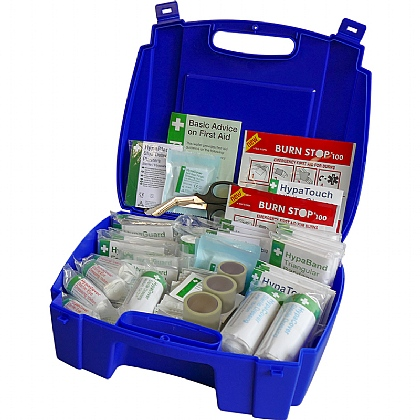 BS 8599 Compliant Blue Catering First Aid Kit, Large