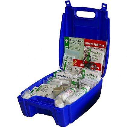 BS 8599 Compliant Blue Catering First Aid Kit, Medium