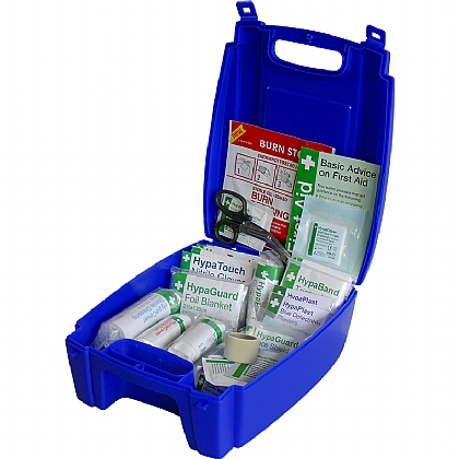 BS 8599 Compliant Blue Catering First Aid Kit, Small