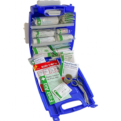 Blue Evolution Plus Catering BS 8599 Compliant First Aid Kit, Small