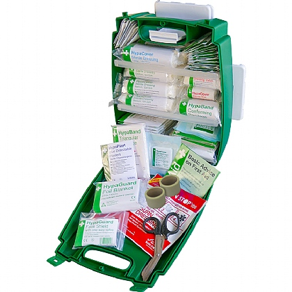 Green Evolution Plus Catering BS 8599 Compliant First Aid Kit, Medium
