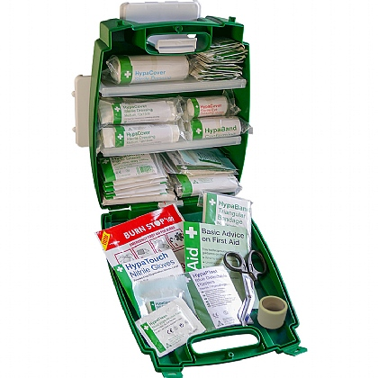 Green Evolution Plus Catering BS 8599 Compliant First Aid Kit, Small
