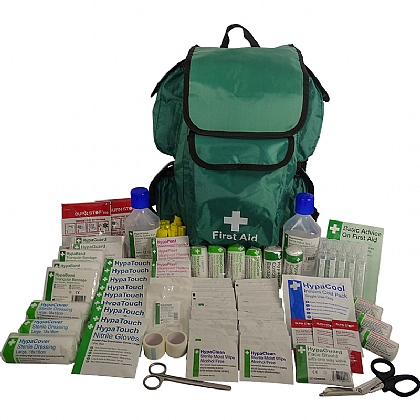 British Standard Compliant First Aider Rucksack (Comprehensive)