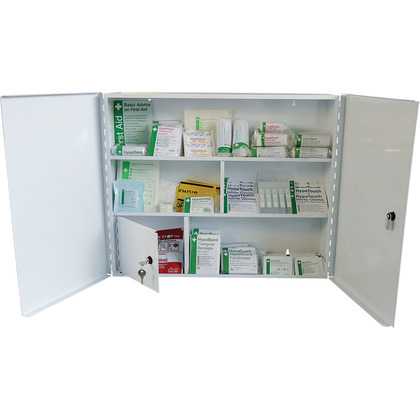 BS 8599 Compliant Industrial High-Risk First Aid Cabinet