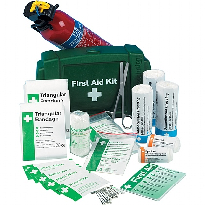 Evolution PCV First Aid Kit with Fire Extinguisher
