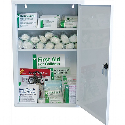 British Standard Compliant School First Aid Cabinet