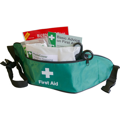 BS8599-2 Motorcycle First Aid Kit in Bum Bag