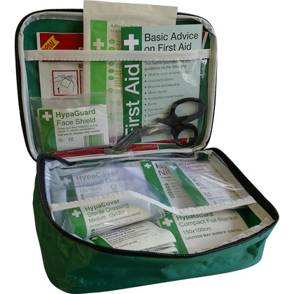 BS 8599-2 Car and Taxi First Aid Kit in Pouch