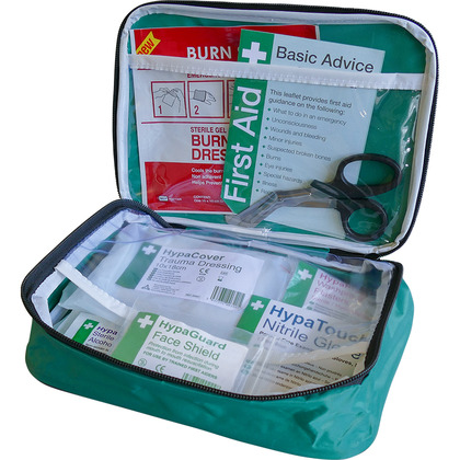 BS8599-2 Motorcycle First Aid Kit in Pouch