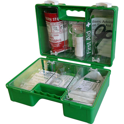 BS8599-2 Motor Vehicle First Aid Kit in Heavy Duty ABS Case