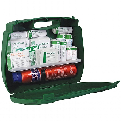 First Aid Kit with Fire Extinguisher