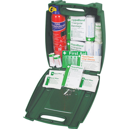 Evolution PCV First Aid & Fire Extinguisher Kit