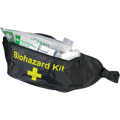 Body Fluid Disposal Kit in Bum Bag (1 App)