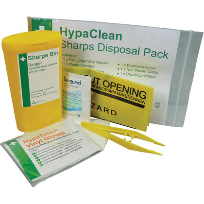 Sharps Disposal Pack - 1 Application